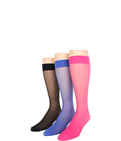 Cole Haan - Pin Stripe Knee High 3 Pack