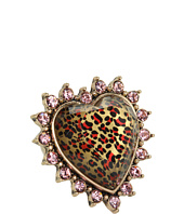 Betsey Johnson - Leopard Heart Stretch Ring