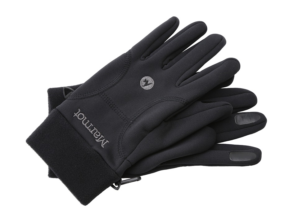 Marmot Power Stretch Glove (Black) Extreme Cold Weather Gloves