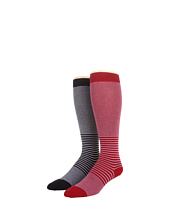 Cole Haan - 2 Scale Stripe Knee High 2 Pack