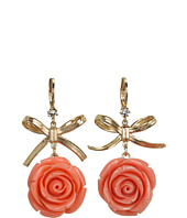 Betsey Johnson - Resin Flower Drop Earrings