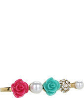 Betsey Johnson - Resin Flower 3-Finger Ring