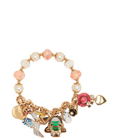 Betsey Johnson - Walk in the Park Frog Basket Half Stretch Bracelet
