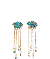 Betsey Johnson - Walk in the Park Cloud Linear Earrings