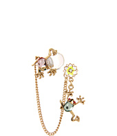 Betsey Johnson - Walk in the Park Frog Cuff Earrings
