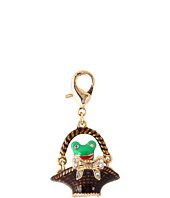 Betsey Johnson - Walk in the Park Frog Basket Charm