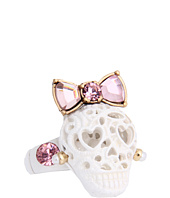 Betsey Johnson - Lace Skull Stretch Ring