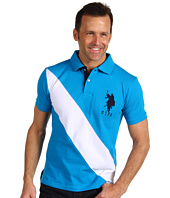 U.S. Polo Assn - Diagonal Striped Polo