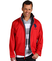 U.S. Polo Assn - Solid Windbreaker with Big Pony