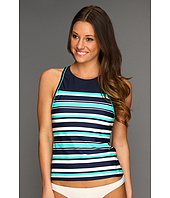 Eco Swim by Aqua Green - Rugby Hi-Neck Racerkini Top