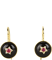 Elizabeth and James - Victorian Star Cabochon Drop Earrings