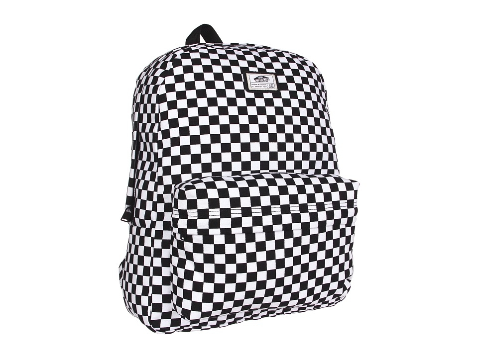 Vans - Old Skool II Backpack (Black/White Check) Backpack Bags