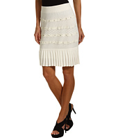 Catherine Malandrino - Pleated Mini Skirt w/ Nails
