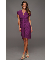 Catherine Malandrino - Knot Front Cascade Dress
