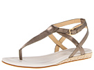 Cole Haan - Grove Sandal (Gunsmoke Metallic) - Footwear