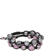 Betsey Johnson - Carved Rose Fireball Pulley Set Bracelet