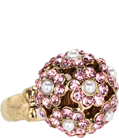 Betsey Johnson - Heart and Bow Orbital Flower Stretch Ring