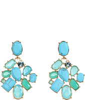 Kate Spade New York - Crystal Fiesta Cluster Clip Earrings