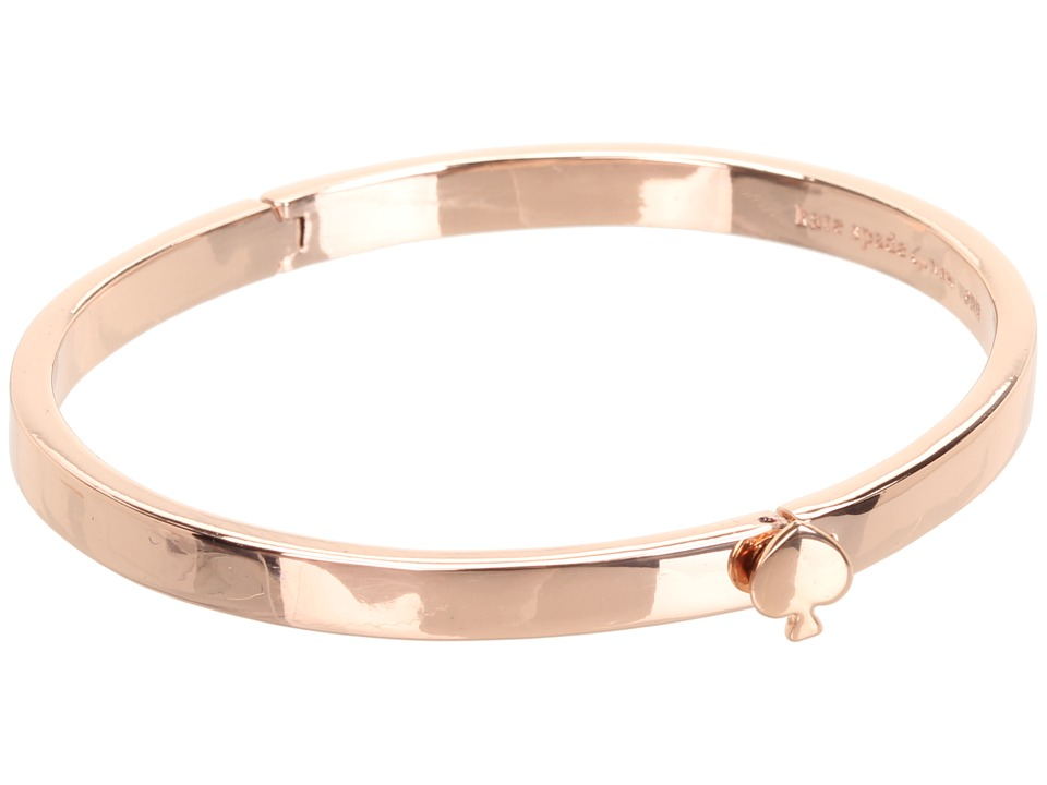 Kate Spade New York - Spade Thin Hinge Bangle (Rose Gold) Bracelet