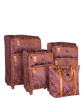 Diane Von Furstenberg - Modern Tile - Four Piece Spinner Luggage Set