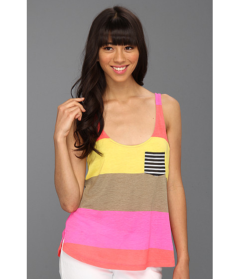 Cheap Hurley Babes Tank Neon Pink