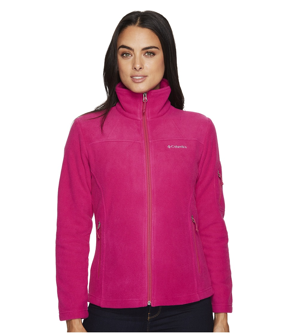 Columbia Fast Trektm II Full-Zip Fleece Jacket (Deep Blush) Women