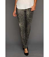 True Religion - Stella Skinny Paint Splatter in Black