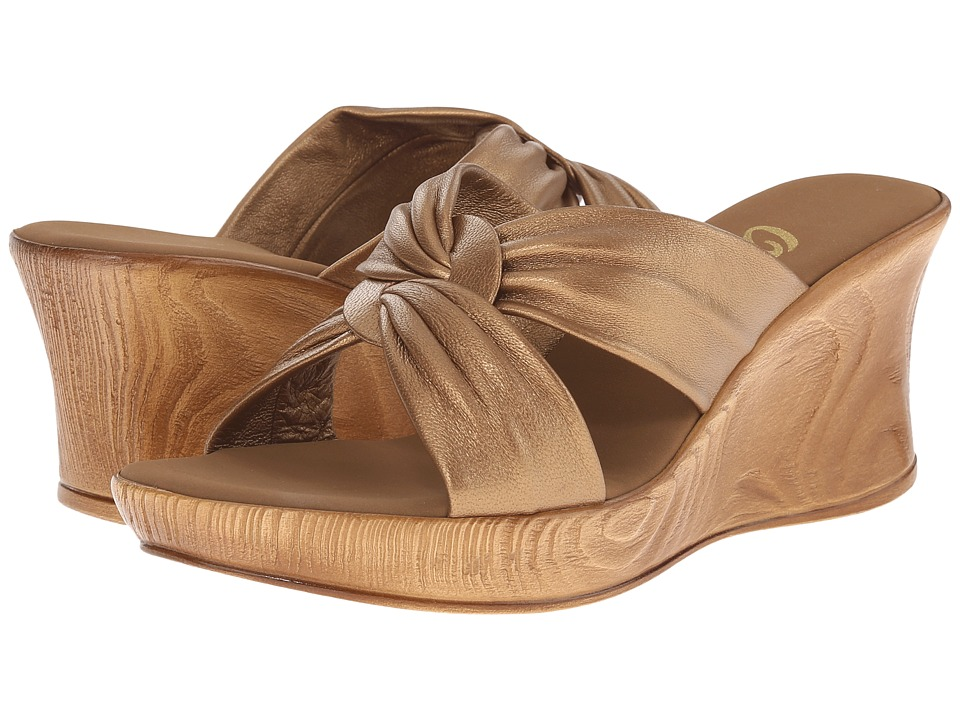 Onex - Puffy (Nu Bronze) Womens Wedge Shoes