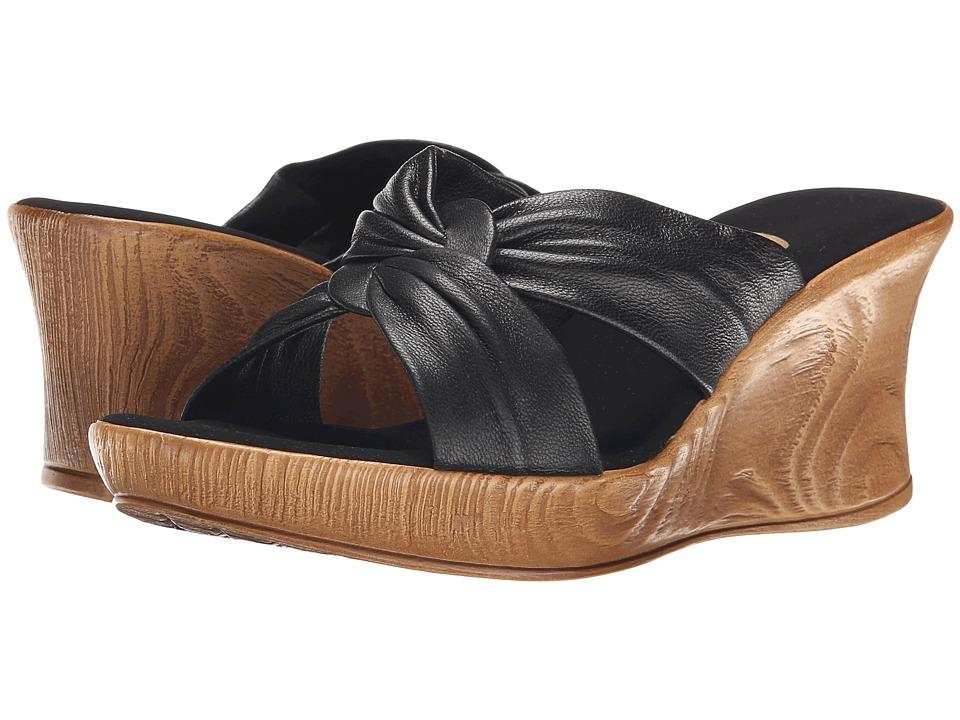Onex Puffy (Black) Wedge Shoes