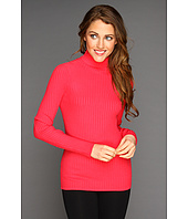 Anne Klein - Ribbed Turtleneck Top