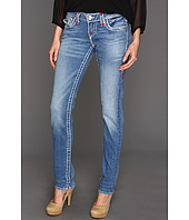True Religion - Julie Skinny Super T Brights in Medium Drifter