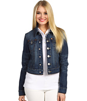 True Religion - Emily Higher Waist Western Jacket in Dusty Skies