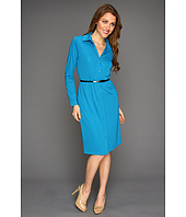 Anne Klein - L/S Polo Dress