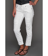 True Religion - Brianna Slim Boyfriend in Optic White
