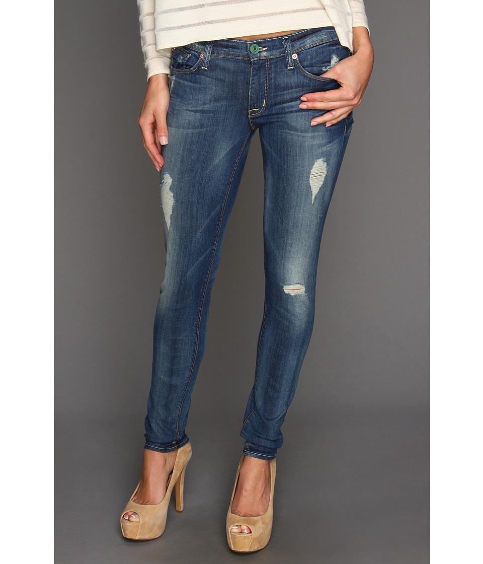 Hudson Krista Super Skinny Distressed in Blondie Blondie Womens Jeans