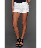 True Religion - Jayde Boyfriend Short in Optic White