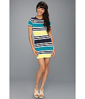 French Connection - Jag Stripe Multi Dress