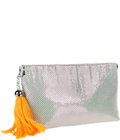 BCBGeneration - LIV Metal Mesh Clutch