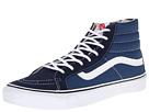 Sk8-Hi Slim Core Classics (Navy/White) Skate Shoes