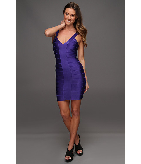 French Connection - Foxy Faye Dress (Electric Purple) - Apparel