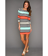 French Connection - Multi Jag Striped Dress
