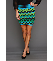 Gabriella Rocha - Madiline Chevron Stripe Mini Skirt