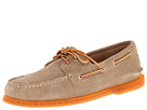 Sperry Top-Sider - A/O 2-Eye Ice Suede (Sand/Orange) - Footwear