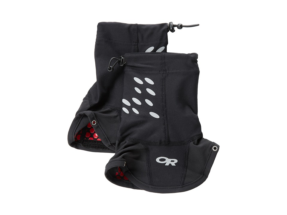 Outdoor Research Ultra Trail Gaiters Black Mens Overshoes Accessories Shoes