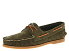 Sperry Top-Sider - A/O 2-Eye Corduroy (Olive) - Footwear