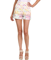 Tibi - Velocity On Denim High Waisted Shorts