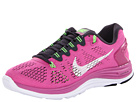 Nike - Lunarglide+ 5 (Club Pink/Gridiron/Flash Lime/White)