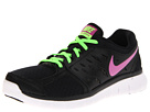 Nike - Flex 2013 Run (Black/Flash Lime/White/Club Pink)