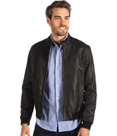 Cole Haan - Italian Washed Lamb Jacket w/ Baseball Collar