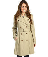 Cole Haan - Classic Cotton Rain Trench
